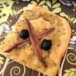 Pissaladière o pizza de anchoas