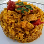 Arroz de Pinchitos Rápido